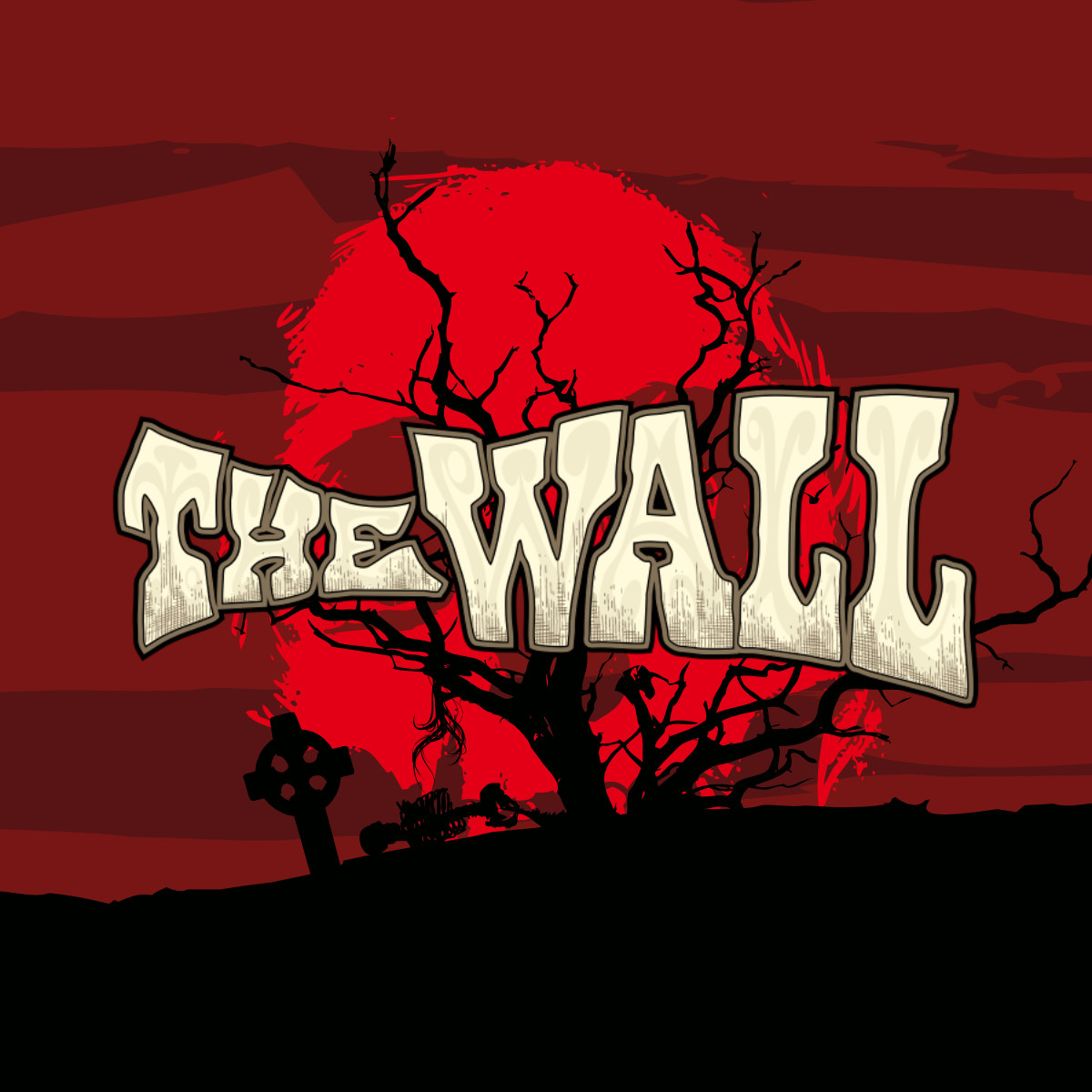 Rosigrafik- obal CD The Wall